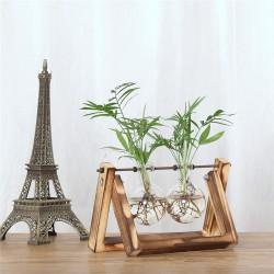 Modèle chevalet double vase