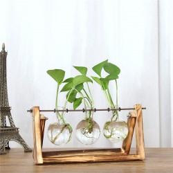 Modèle chevalet triple vase
